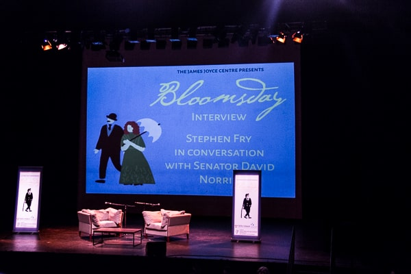 Stephen Fry talking on Bloomsday