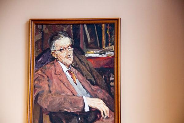 James Joyce left Dublin in 1904