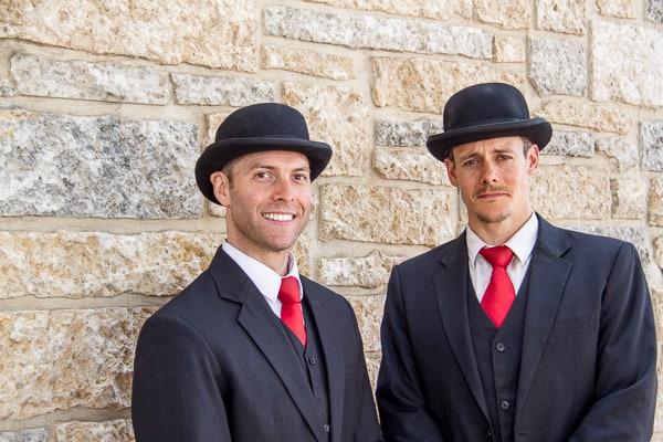 The English Gents at the Edmonton Street Performers Festival via @insidetravellab