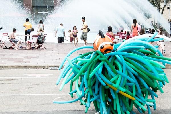 Finding Nemo at the Edmonton Street Festival via @insidetravellab
