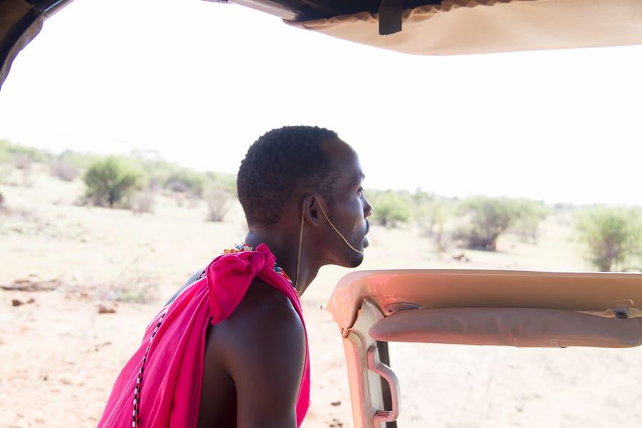 Safari Guide at Sasaab Lodge in Kenya via @insidetravellab