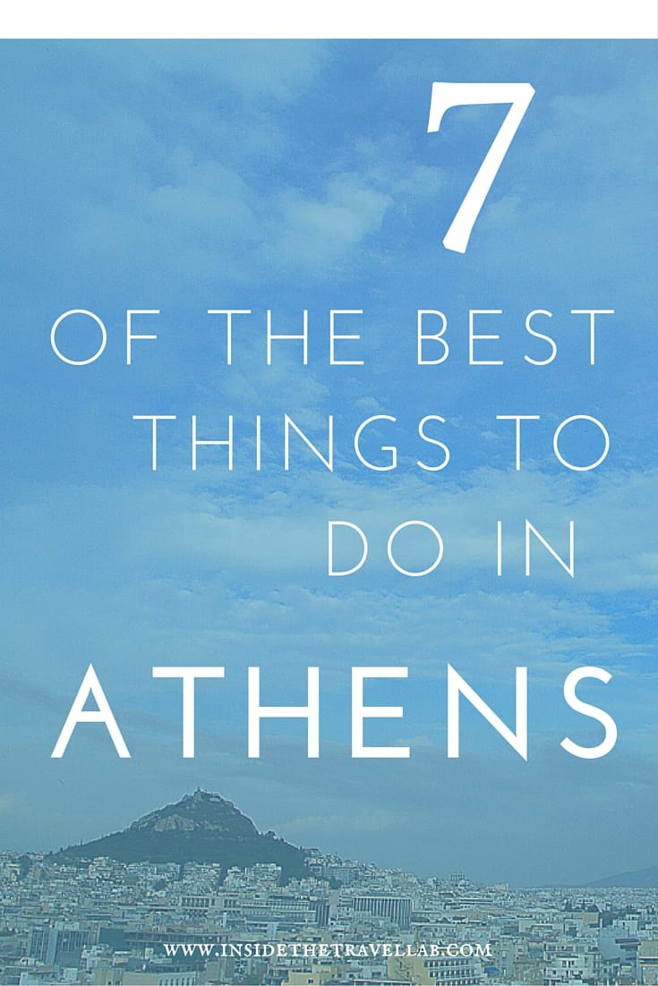 7 of the best things to do in Athens - Athens skyline