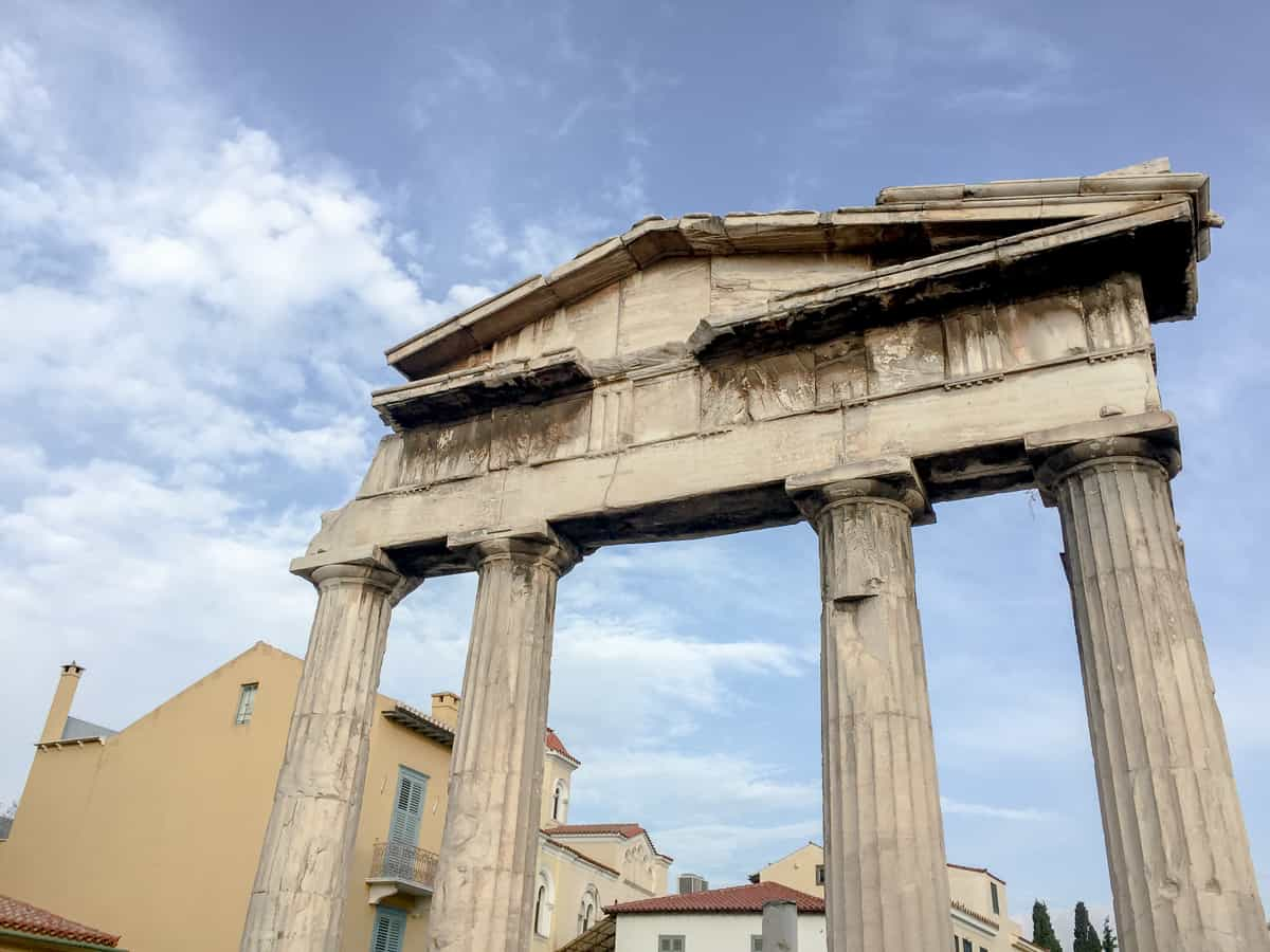 Things to do in Athens-classical architecture in Athens
