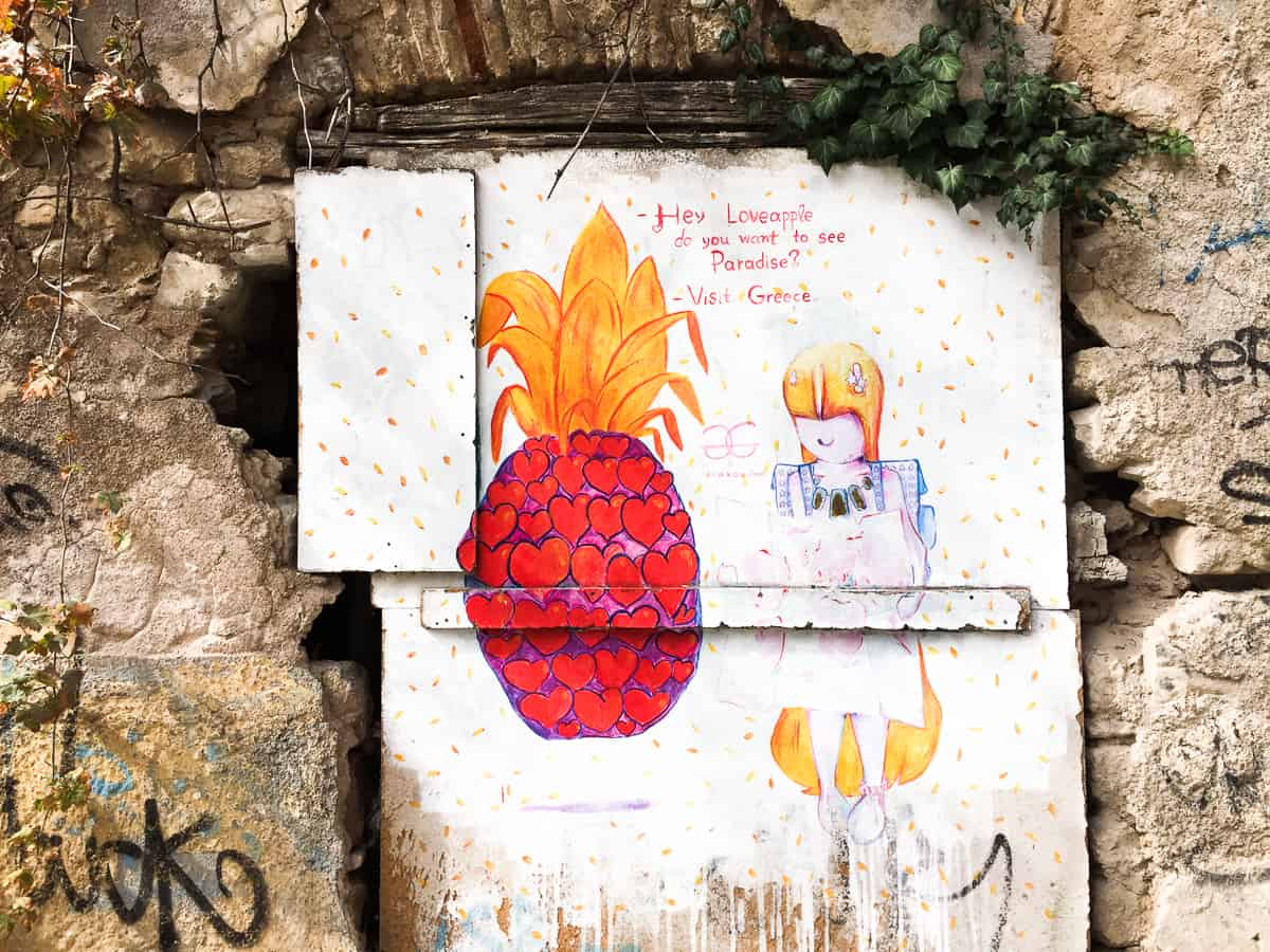Things to do in Athens-look for street art