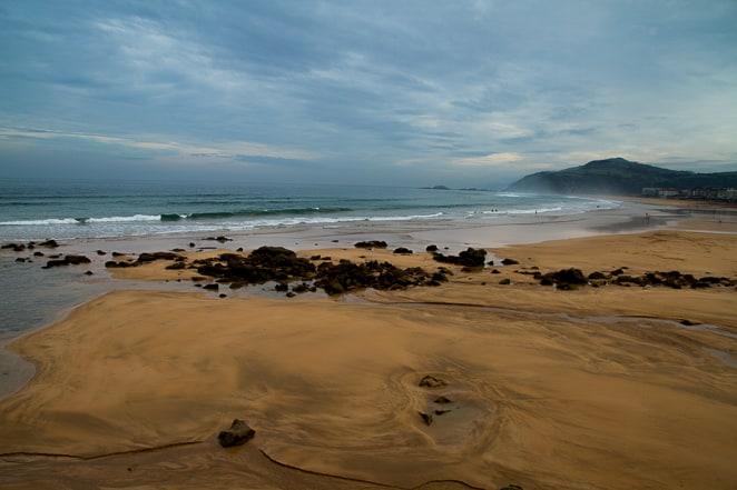 The beautiful beach from San Sebastian Spain to the Balenciaga Museum via @insidetravellab