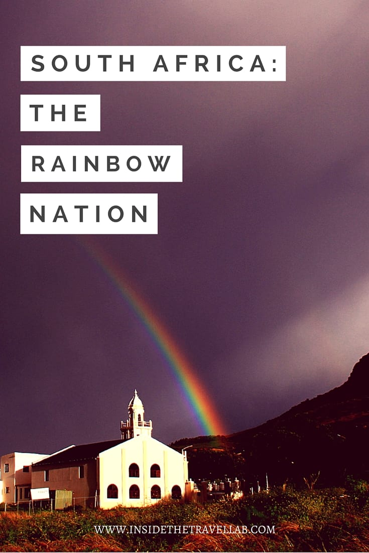 "South Africa is the ""rainbow nation,"" a term first used by Desmond Tutu and later by Nelson Mandela as full democracy arrived. - via @insidetravellab"
