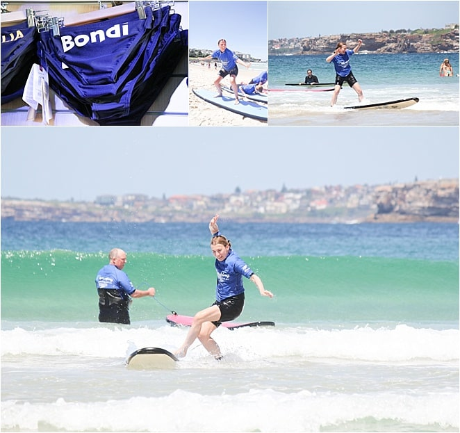 Learn to surf Sydney on Bondi