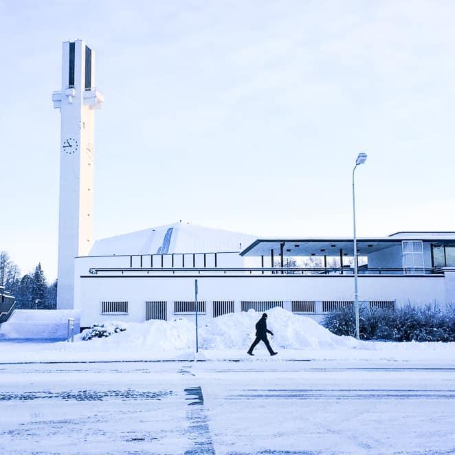 Seinajoki Finland in winter-25
