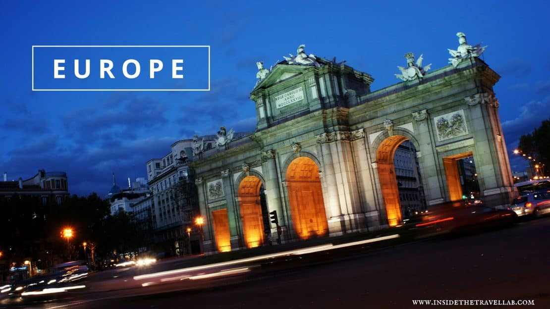 The Best Places to Visit in Europe via @insidetravellab