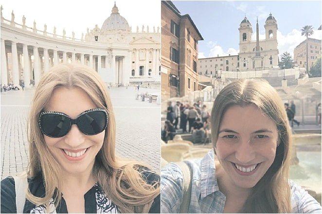 Everywhere you look in Rome, there's something to marvel at – and consequently, everywhere you look, there's a tourist taking a selfie. When in Rome...