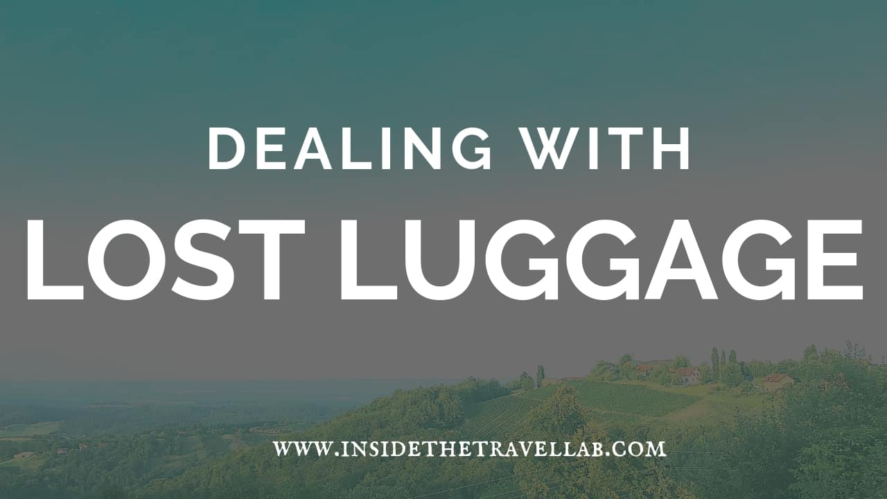 Dealing with Lost Luggage