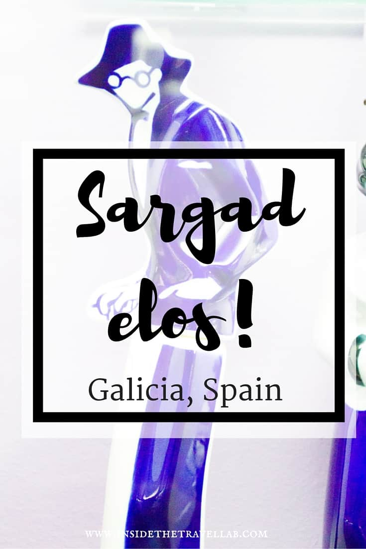 The striking blue and white sargadelos of Galicia, Spain. A highlight of travel in Spain via @insidetravellab