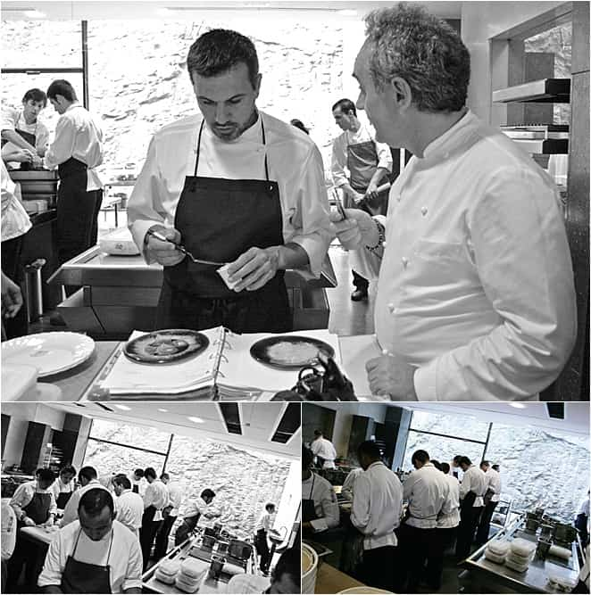 Inside the kitchens of El Bulli with Ferran Adria at the world's best restaurant