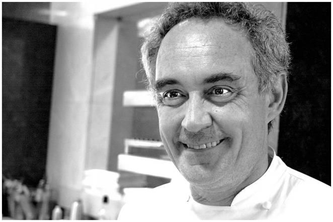 Ferran Adria at El Bulli in Spain
