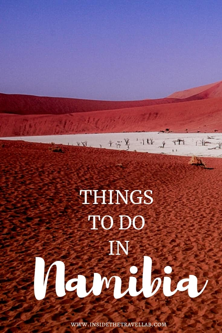 Things to do in Namibia