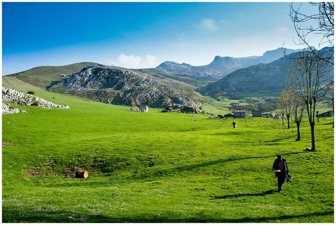 Transcantabrico train and the Picos Europa