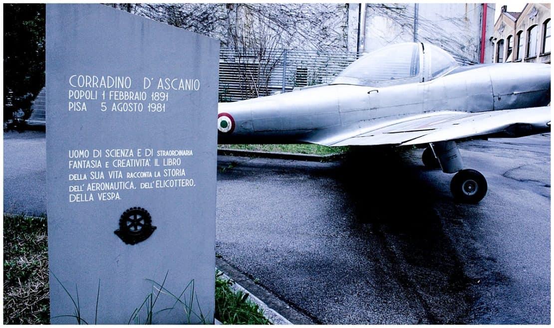 Piaggio Vespa Museum with its origins