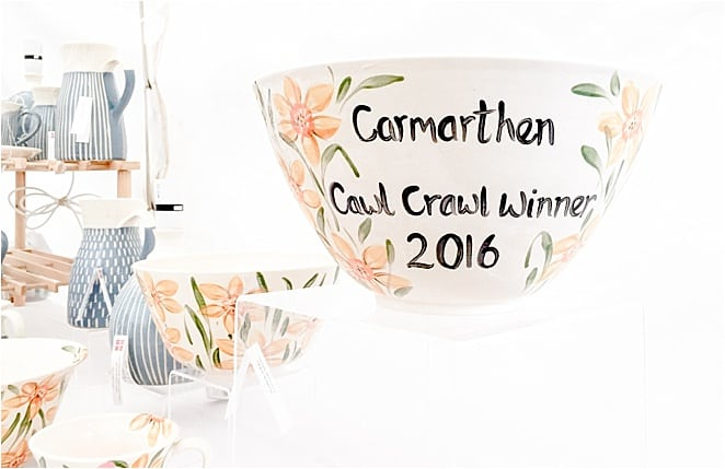 Cawl crawl crockery in Carmarthenshire