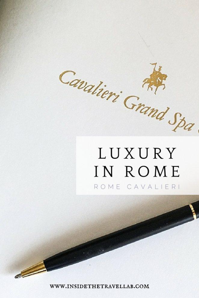 Luxury in Rome