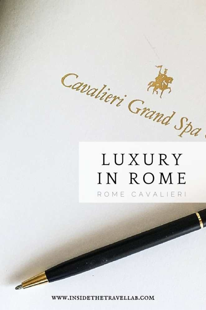 Luxury in Rome