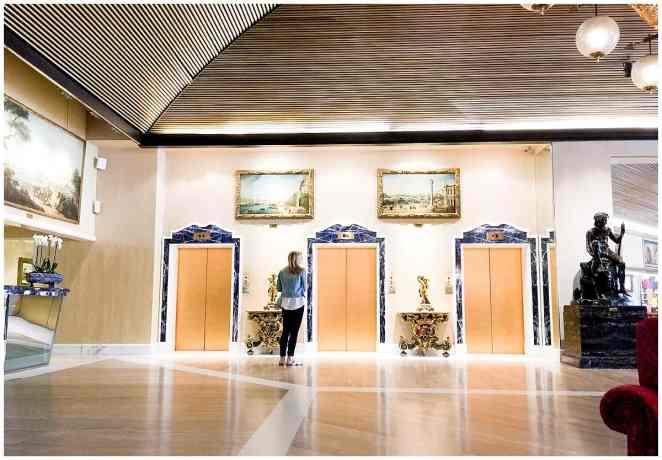 Rome Cavalieri Entrance
