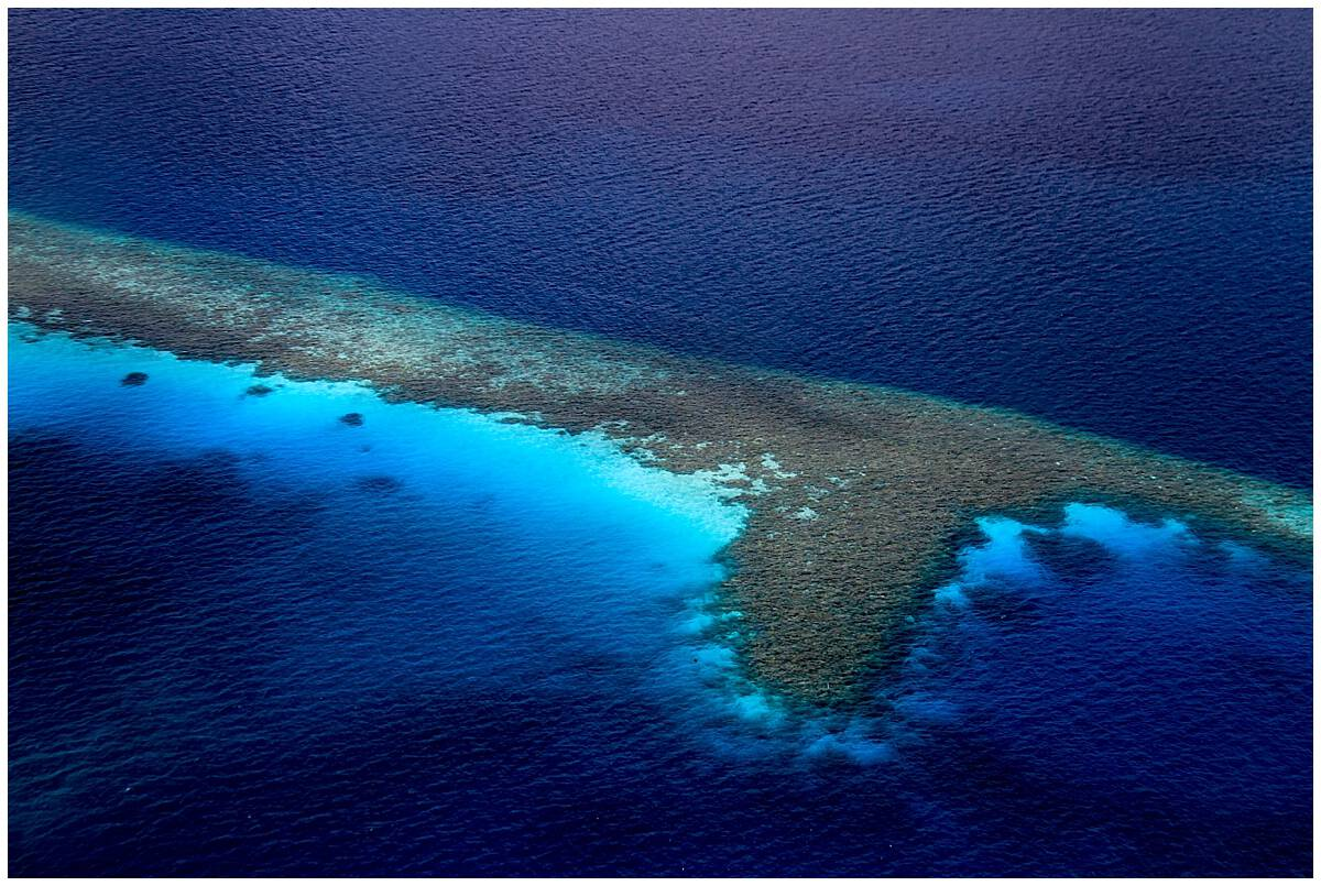 Maldives Islands from the Sky