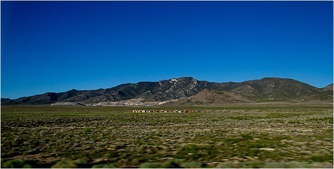 Driving from Nevada