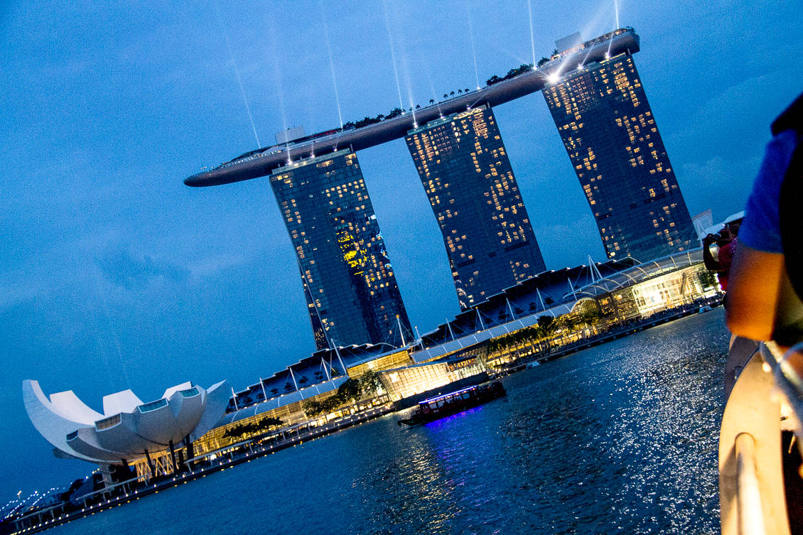 Singapore River Cruise View via @insidetravellab