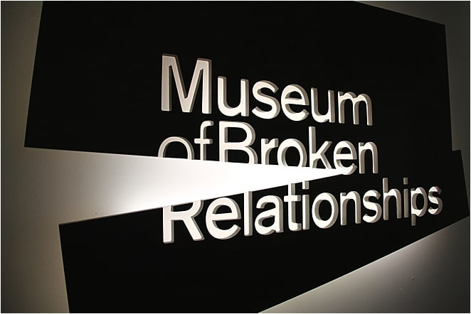 Museum of Broken Relationships Entrance in Zagreb