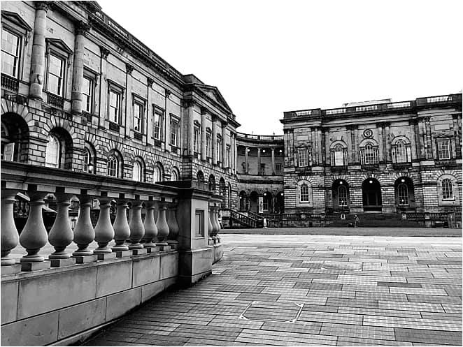 Old College in Edinburgh