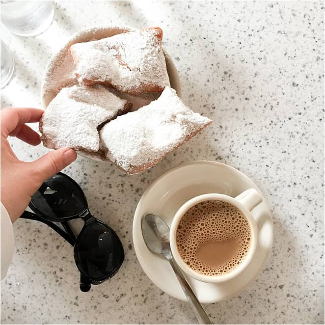 Cafe du Monde New Orleans - with chicory coffee