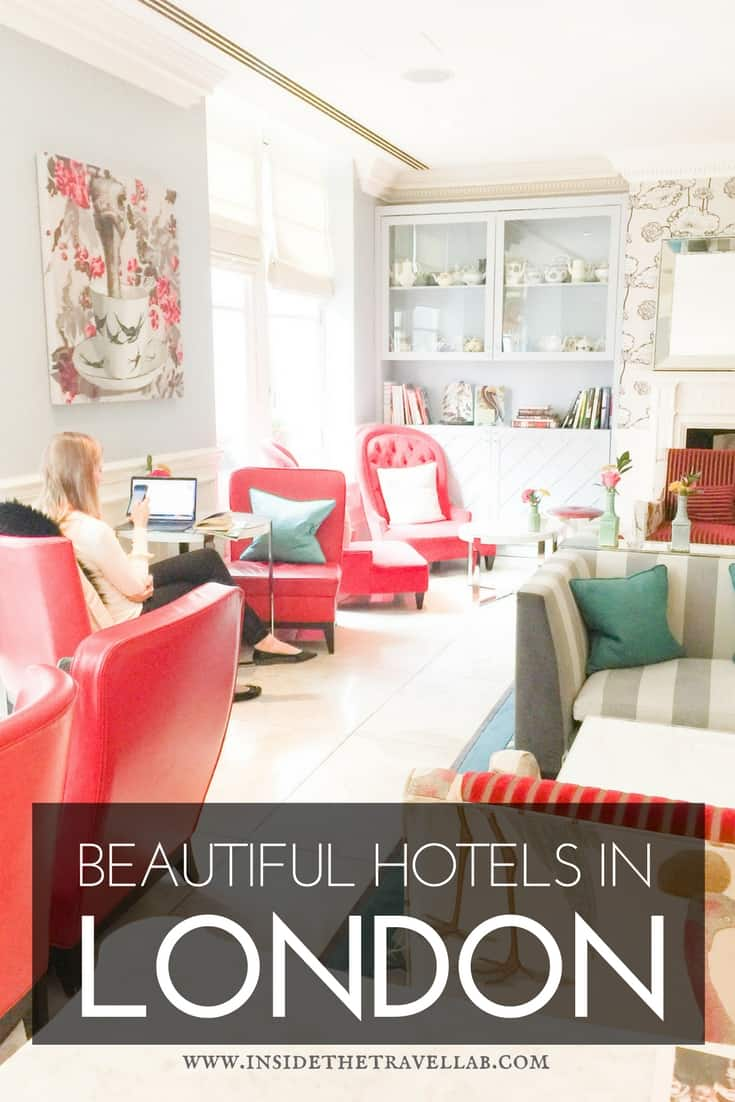 Special places to stay in london inside the travel lab for Beautiful boutique hotels
