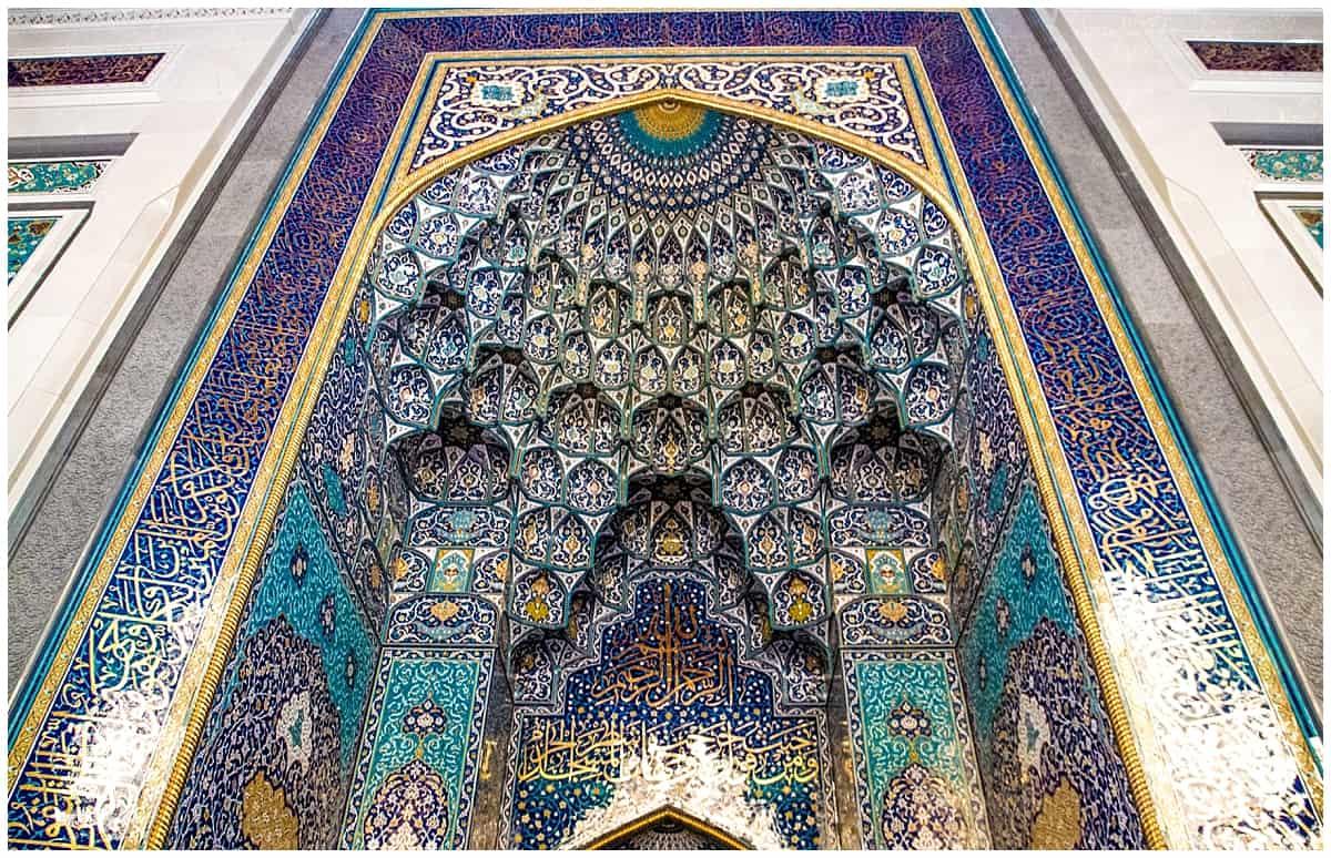 Sultan Qaboos Grand Mosque-in Oman