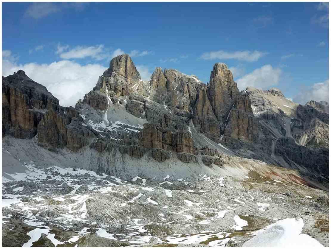 Via Ferrata in the Dolomites Italy