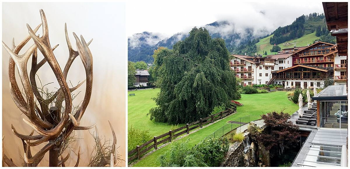 Combining Tyrolean tradition and antlers in Austria
