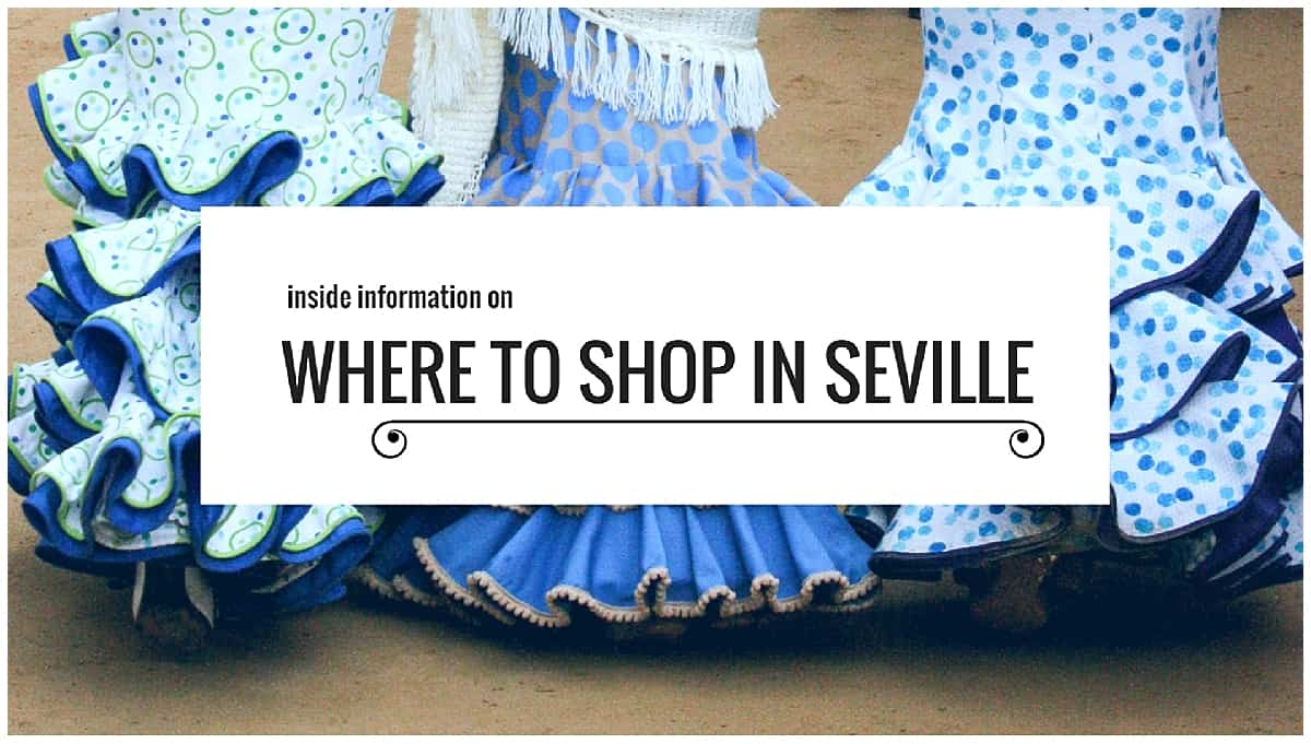 Where to shop in Seville