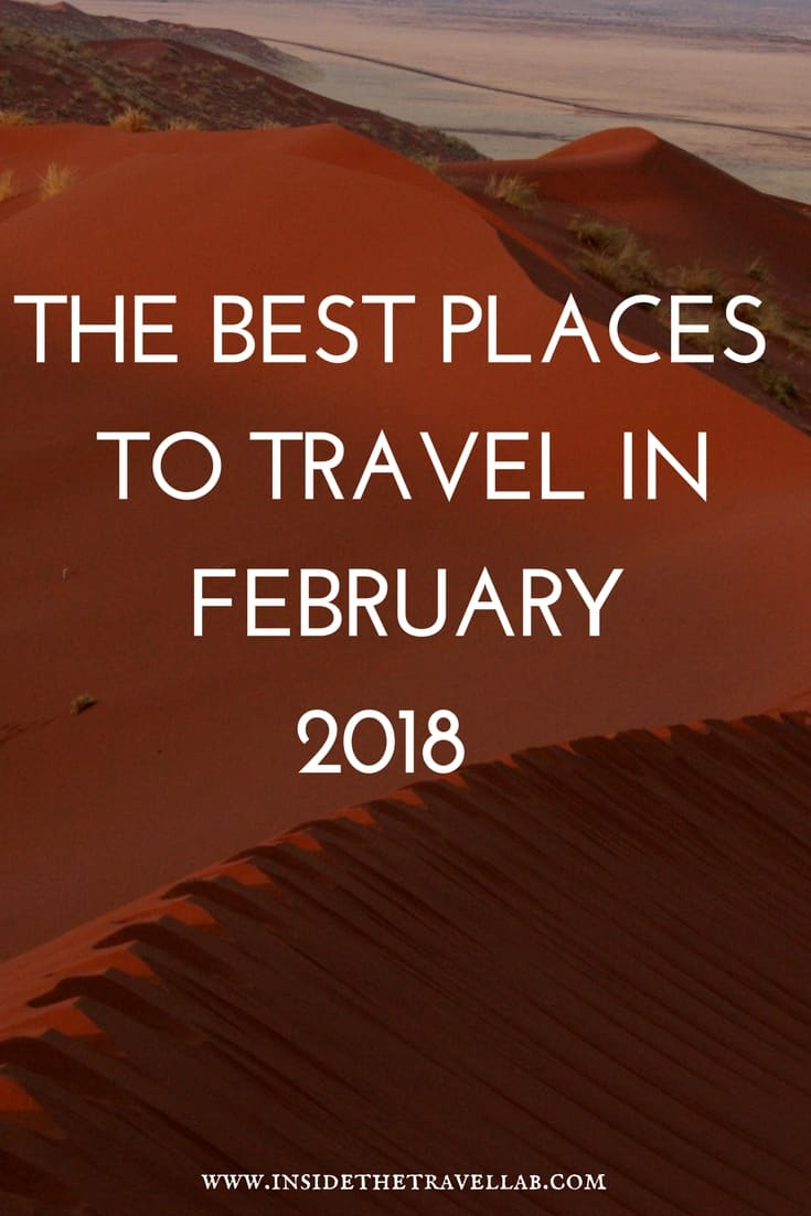 Best Places To Travel In February 2018 Europe