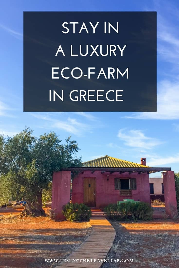 Authentic eco farm stay in Greece - a lovely place to stay in the Peloponnese