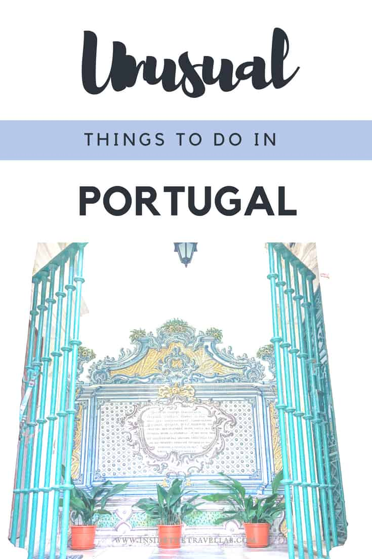 Unusual things to do in Portugal. Here is a lovely round up of authentic and beautiful things to do in Portugal. When it comes to travel in Portugal, start with Lisbon, Coimbra and Porto, add in a few beaches and Sintra and you will have plenty of memorable things to do. Tips, interviews and tour recommendations to help plan your trip to Portugal. #Portugal #Lisbon #Porto #Coimbra