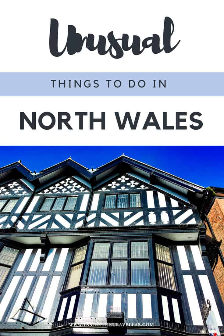 Unusual things to do in North Wales. Enjoy visiting Wales with this list of cool art centres, National Trust properties, gorgeous beaches and a UNESCO World Heritage Site. North East Wales offers canals, rugged beauty and intriguing history. There's even the first Welsh Bible. It's time to explore #Wales #AltogetherBrilliant #VisitWales #NorthWales #FollowYourEpic