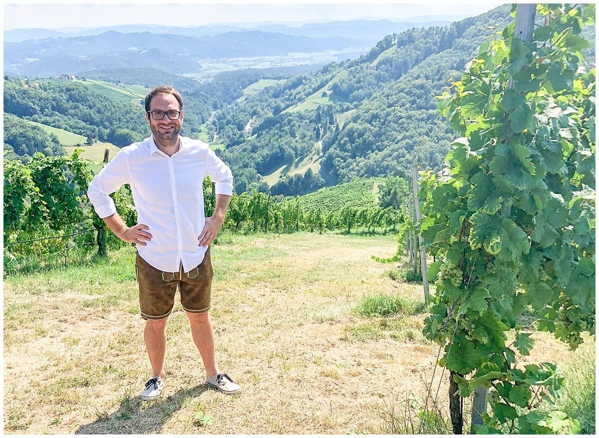 Stefan Schauer - Owner at Buschenschank in Sausal Styria
