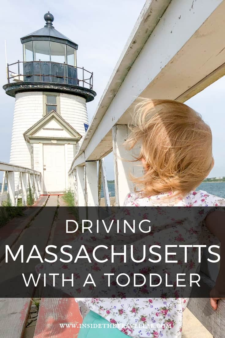 Driving Massachusetts with a toddler