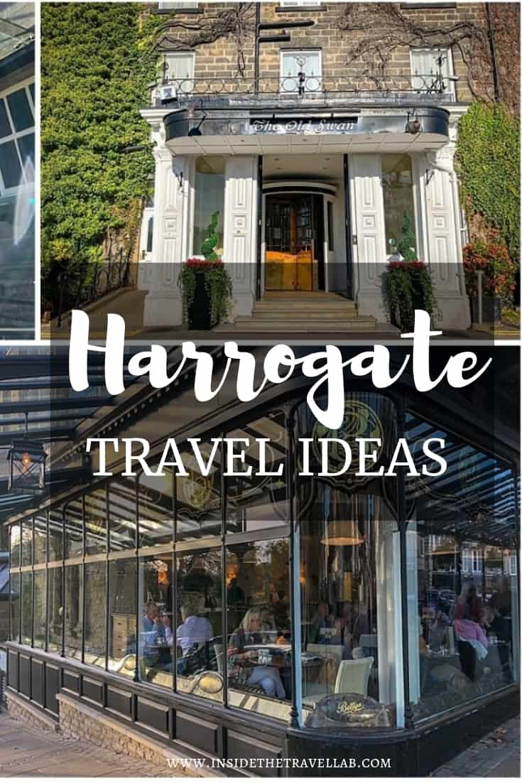 A selection of lovely things to do in Harrogate to relax and recharge, including Betty's Tea Rooms, The Chapel and lots more. #Harrogate #LoveGreatBritain #Yorkshire