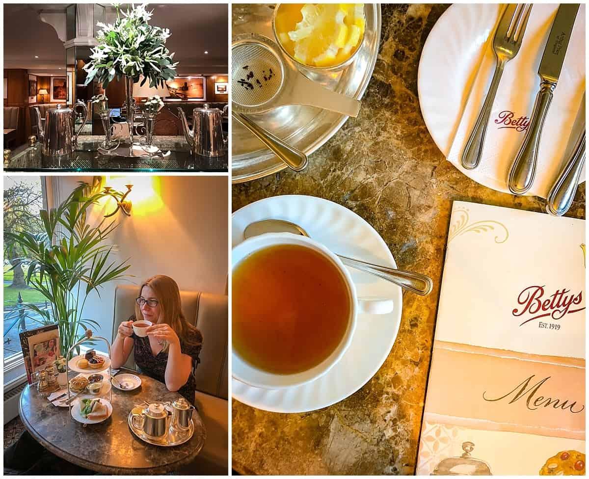 Things to do in Harrogate, Inside Betty's Tea Rooms Harrogate