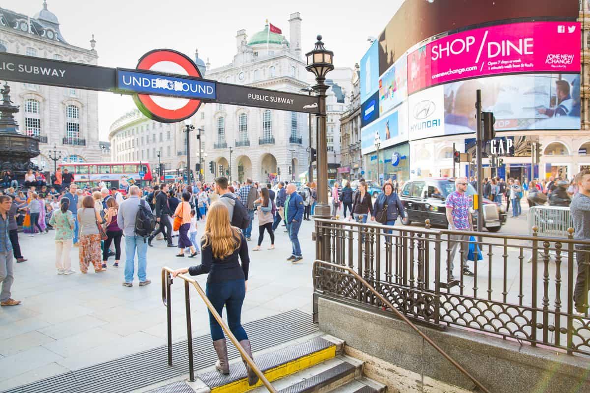 Walking in London part of 3 days in London