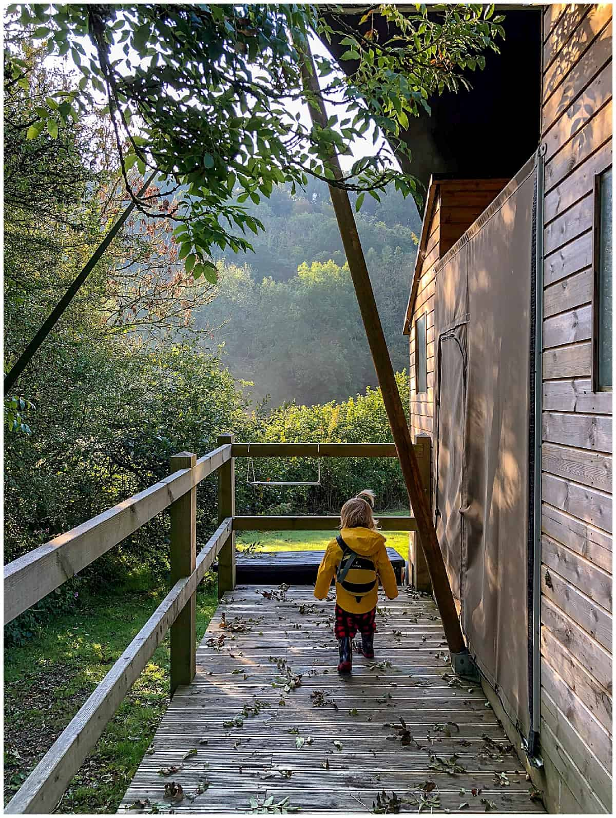 Glamping with toddlers
