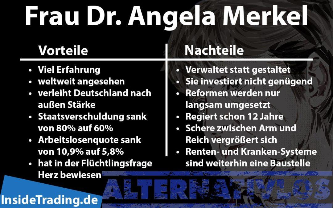 Vortele und Nachteile von Merkel