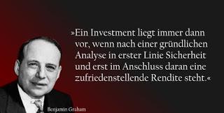Value Investing nach Benjamin Graham