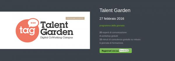 web advisor_talen garden milano