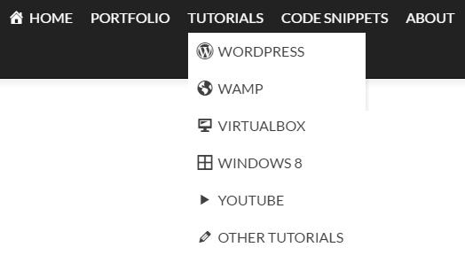 Menu-icons_aggiungere icone al menù del sito